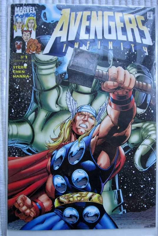 Marvel Comics Avengers Infinity #1 Limited Edition
