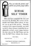 Vintage Kodak Camera Pneumatic Self Timer