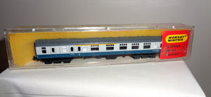 Vintage Hornby Minitrix 306 Composite Brake End Coach