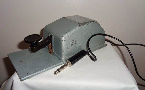 Vintage Junker DBGM German Military Morse Key
