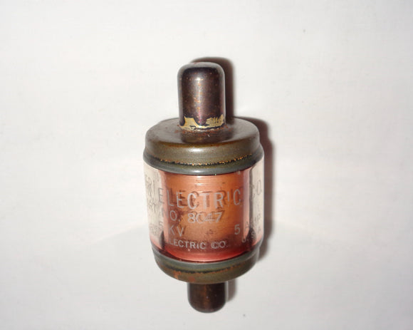Vintage Western Electric Part No. 8047 Vacuum Capacitor 50mmF 5KV