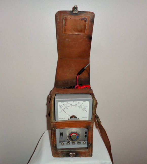 Post Office Multirange Meter Model 12C/1 Includes Leather Case & Leads