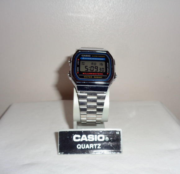 Vintage Casio A168 1572 Illuminator LCD Watch