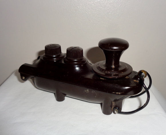 10F/7741 Type F Bathtub Military Morse Key