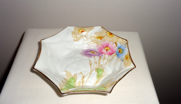 Vintage Royal Standard Bone China Trinket Dish 13cm Diameter