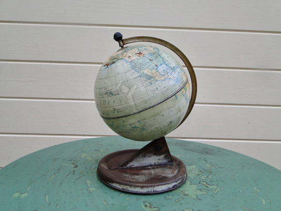 Chad Valley 1950s Tinplate Globe Of The World