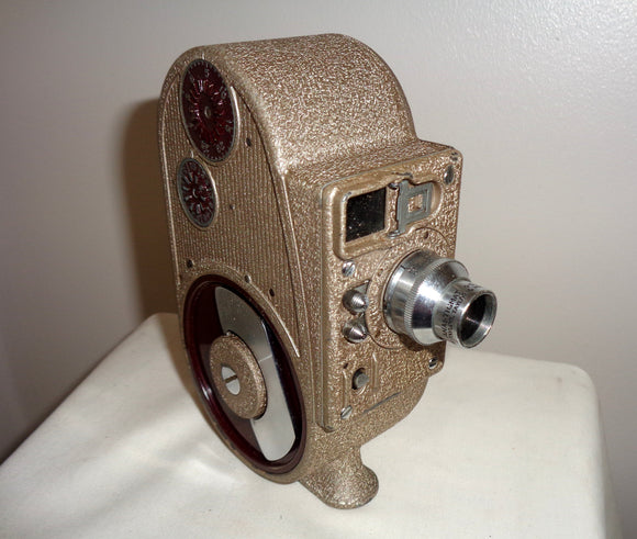 GB Bell & Howell Sportster Double Run Eight Cine Camera