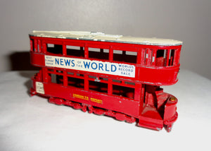 Lesney Matchbox Model Of Yesteryear Tram No.3: 1907 London E Class Tramcar