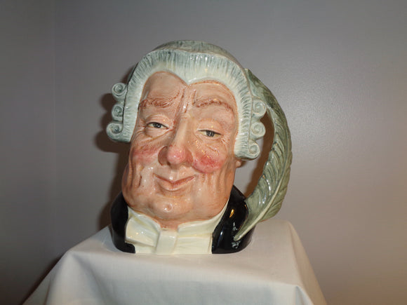 1950s Royal Doulton The Lawyer Character Jug D6498