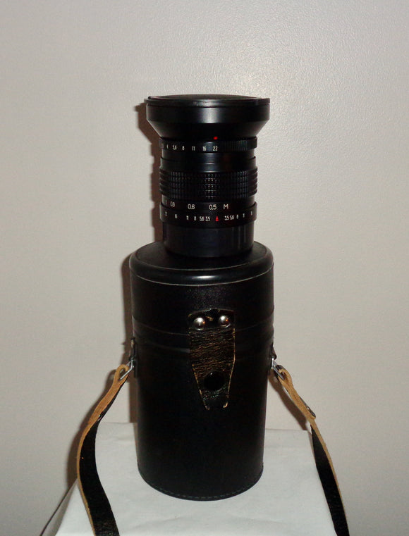Mir 26B f3.5 45mm Camera Lens With Kiev 88 SLR medium Format Camera Mount
