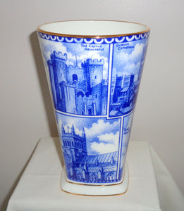 Ringtons Cathedral Landmarks Wade Pottery Vase