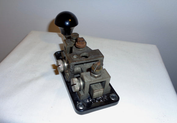 1940 Group 1 No.2 WT 8 Amp LMK Morse Key