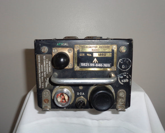 RAF Sea King Helicopter Radio Transceiver D403M Serial No. 1880 By UEL Ultra Electronics Ltd