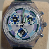 1993 SWATCH Greentic SVC100 Chronograph Watch