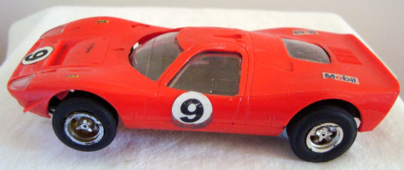 Vintage 1970s Scalextric C15 Red Ford Mirage