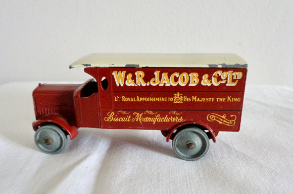 Lesney Matchbox Models Of Yesteryear No. 7 Four Ton Leyland Jacob's Biscuits Lorry
