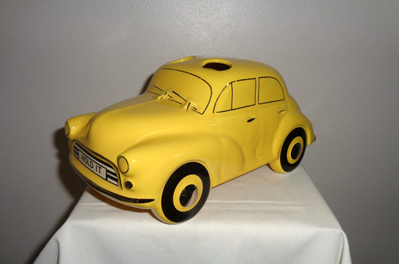 Yellow Morris Minor Sadler Hold It Desk Tidy
