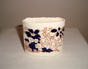 Vintage Masons Ironstone Cocktail Stick Holder Mandarin pattern