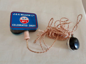 Miniature Radio In Snuff Tin With Acos Microphone Ear Bud