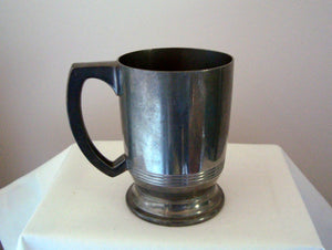 Walker and Hall Howard Pewter 1/2 Pint Tankard 1227P