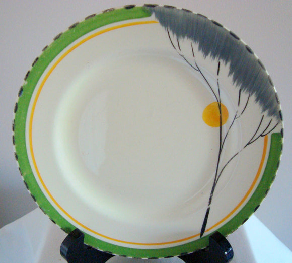 1930s Set of 3 Burgess & Leigh Burleigh Ware Dawn Side Plates