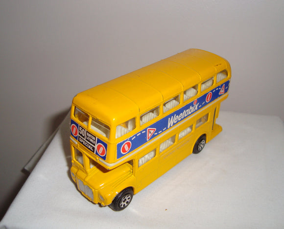 Vintage Corgi London Routemaster Bus Branded Weetabix
