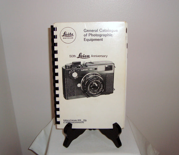 1974 Leica 50th Anniversary General Catalogue of Photographic Equipment
