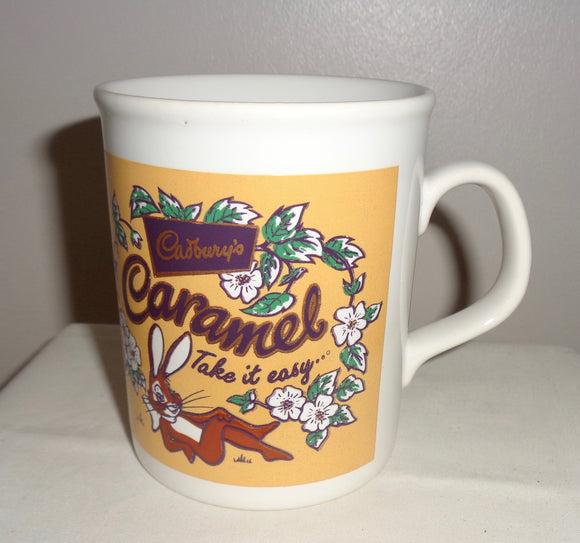Kilncraft 1980s Cadbury's Caramel Advertising Mug