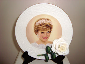 1998 Diana England's Rose Bradex 84-B10-873.1 Collector's Plate