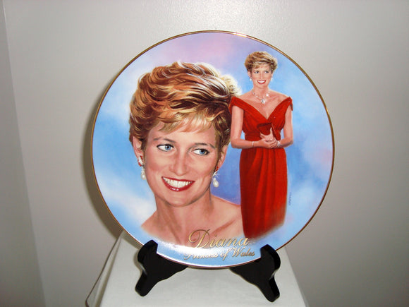 1998 Forever Diana Bradex 84-B10-905.1 Collector's Plate