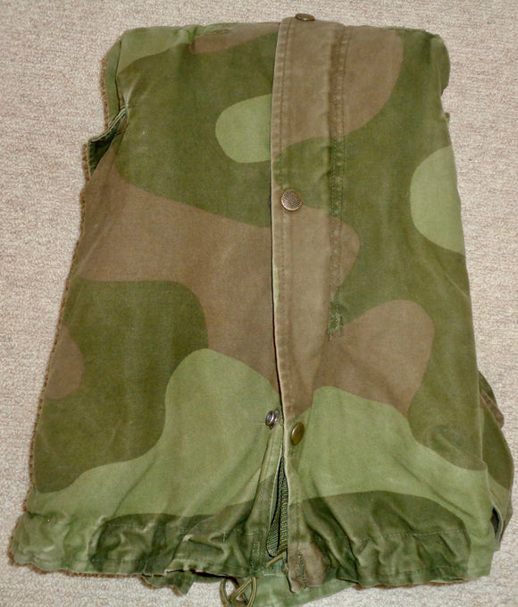 Vintage Army Surplus Norwegian M75 Military Camouflage Jacket