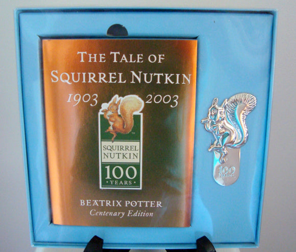 The Tale Of Squirrel Nutkin 2003 Boxed Gold Centenary Edition
