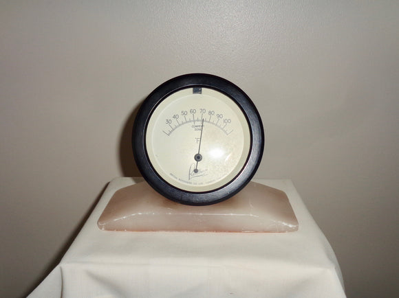Vintage Bakelite Rototherm Thermometer On Alabaster Base