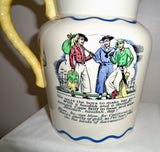 1920s Royal Doulton Nautical Series Sea Shanty Jug