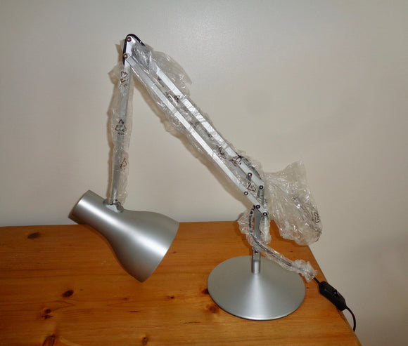 Anglepoise Type 75 Silver Lustre Desk Lamp By Kenneth Grange