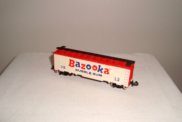 Vintage N-Gauge Bazooka Bubble Gum Container Wagon