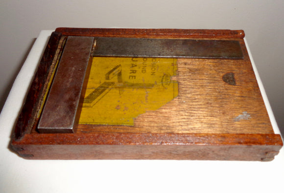 Vintage Moore & Wright Engineer's Precision Ground Square 4