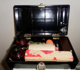 Bakelite Case With Chart Recorder Plotter Ink & Service Kit