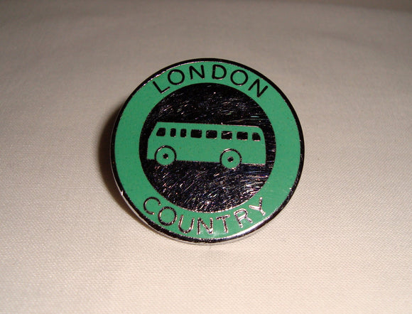 Green line Bus Service Cap Badge