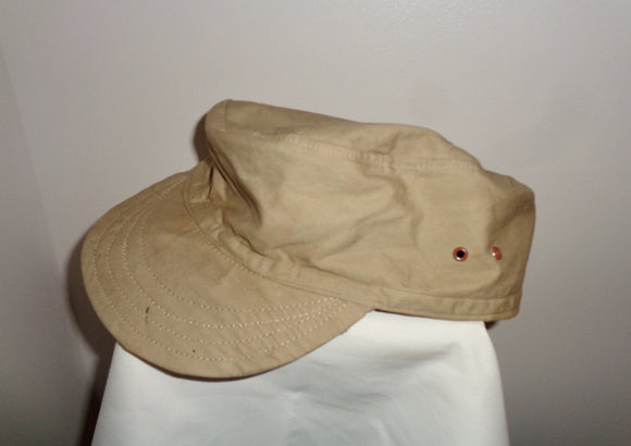 Vintage Cotton Military Fatigue Hat/Baseball Cap