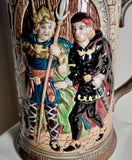 1950s Large Beswick Shakespeare Ware Hamlet Jug Model 1146