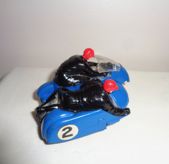 1960s Scalextric B2 Hurricance Slot Motorcycle/Motorbike & Side Car