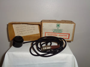 Vintage Grundig Telephone adapter Type TA3
