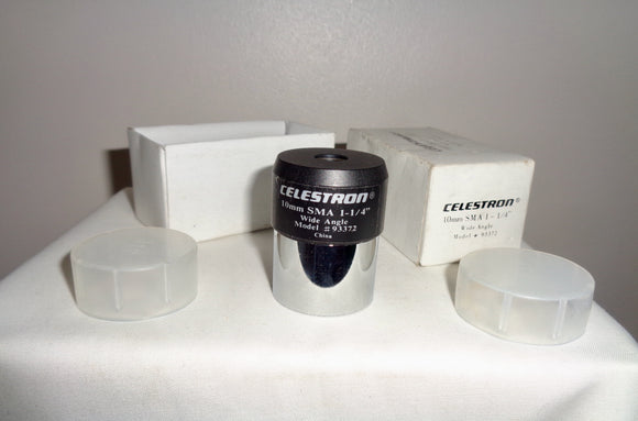 Celestron, 10mm SMA, Kellner Type Telescope Eyepiece 1.25 Inch Wide Angle