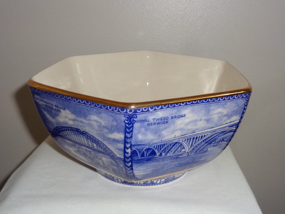Ringtons Bridges Wade Pottery Bowl