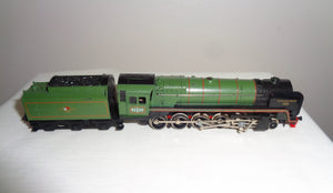 Vintage N-Gauge Trix Evening Star Steam Locomotive With Tender