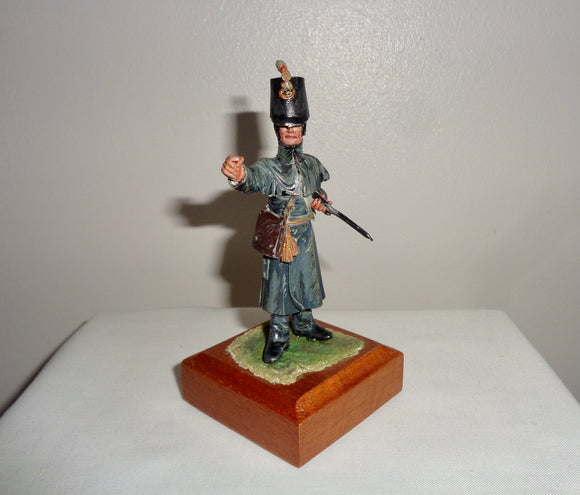 Painted English Pewter/ Lead Soldier Napoleonic Infantry Man