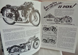1981 Book Motor Cycling in the 1930s by Bob Currie