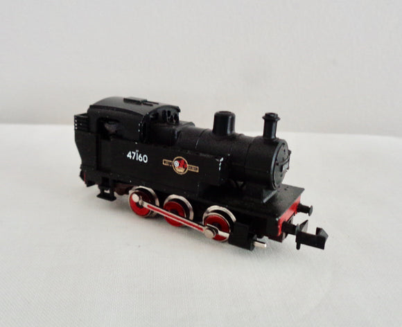 N-Gauge Minitrix BR 0-6-0T Locomotive 47160