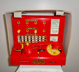 Vintage Children's Codeg Toy Town Tin Plate Telephone Exchange